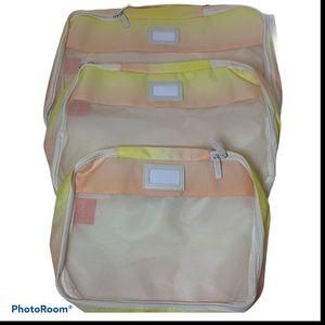 CalPak set of three packing cubes